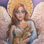 Как Ангел нашу кошку перевоспитывал. Часть 3