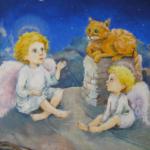 Как Ангел нашу кошку перевоспитывал. Часть 8