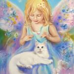 Как Ангел нашу кошку перевоспитывал. Часть 6