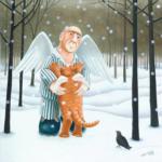 Как Ангел нашу кошку перевоспитывал. Часть 5