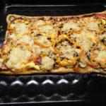 Я готовлю пиццу, а Ляля ворует в магазине семечки. Приглашение к флешмобу